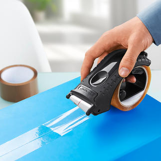 Tendo Paketband-Abroller Ergonomischer. Handlicher. Leichter. Erspart Ihnen Kraftakte, Rucken und Reißen.
