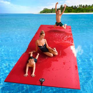 Paradise Pad Das einzigartige Schaum-Wasserkissen trägt je nach Größe bis zu 658(!) Kilo.