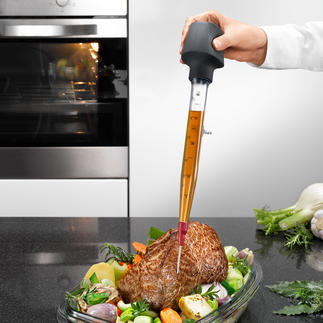 Zyliss® Bratenspritze Sauberer, vielseitiger und praktischer als andere. Mit Standfuß, Wechsel-Spitze und Reinigungsbürste.