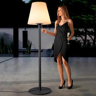 XXL Moonlight Stehlampe Stimmungsvoll wie Mondlicht: die imposante Parklaterne, die kein Vermögen kostet.