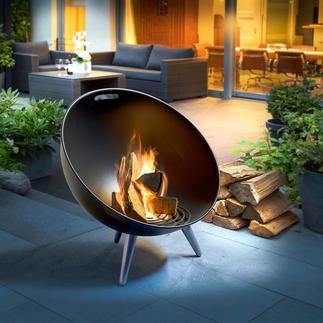 FireGlobe Feuerschale Zünftiges Lagerfeuer – in modernem, dänischem Design.