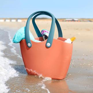 Soft-Shopper Ungeheuer vielseitig. Fast unverwüstlich. Und chic. Die flexible Kunststofftasche im praktischen XL-Shopper-Format.
