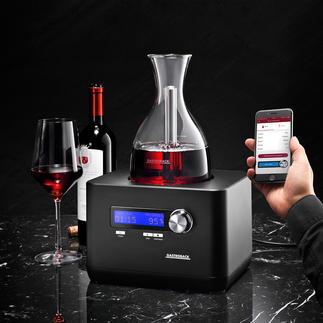 HomeSommelier Geniale Erfindung belüftet Ihren Wein mit hochkonzentriertem Sauerstoff. In wenigen Minuten (!).