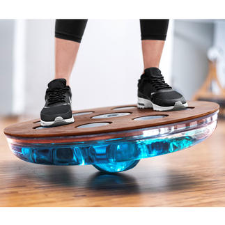 Eau-Me Balance-Board Noch effektiver durch Wasserfüllung. Tiefenmuskel-Training nach dem Chaos-Prinzip.