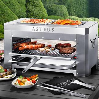 Asteus® Steaker oder Asteus® Family Der wohl heißeste Elektro-Grill. Endlich auch für den Indoor-Gebrauch.