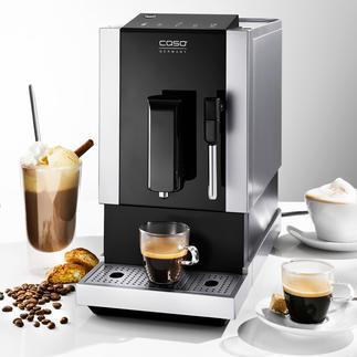 Caso® Kaffeevollautomat Café Crema One Der perfekte Kaffeevollautomat - Kann alles. Sieht gut aus. Und braucht wenig Platz.