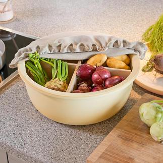 Keramik-Lagertopf CeraNatur® Atmungsaktive CeraNatur®-Keramik hält Ihre Vorräte länger frisch.