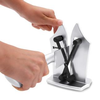 Bavarian Edge™ Messerschärfer Macht Messerschärfen genial einfach, schnell und sicher. Für Glatt- und Wellenschliff.