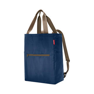 reisenthel® 2-in-1 Falt-Shopper Genial: Falt-Shopper und Rucksack in einem. Handlich klein. Ultraleicht. Immer dabei.
