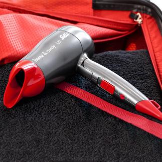 Solis Kompakt-Haartrocker Home & Away Die Power größerer Haartrockner. Im ultrakompakten (Reise-)Format.