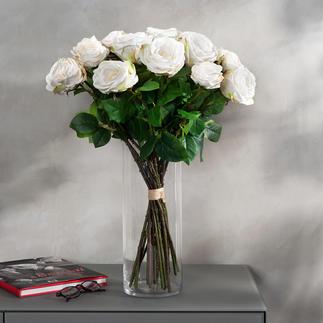 Rosenstrauß Avalanche Unvergängliche Schönheit: das Bouquet de luxe mit 22 üppigen, weißen Avalanche-Rosen.
