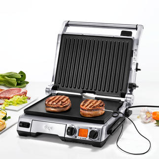 Smart Grill™ Pro Misst konstant die Kerntemperatur. Passt Grillzeit und –temperatur selbsttätig an. Und meldet die optimale Ruhezeit.