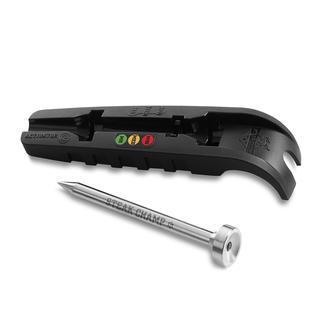 SteakChamp® 3c-black Das intelligente Steak-Thermometer: misst vollautomatisch die Kerntemperatur.