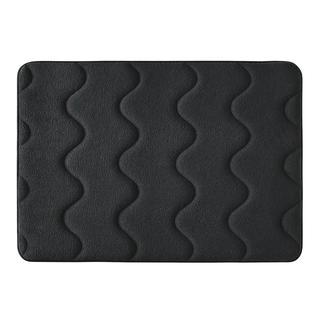 Antibakterielle Memory-Schaum-Badematte Verwöhnender Luxus, perfekte Hygiene: die Microfaser-Badematte mit Memory-Schaumpolster.