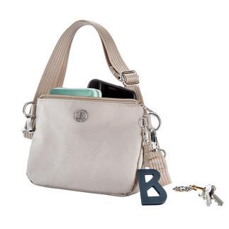 Bogner 4-in-1 Tasche Die 4-in-1 Bogner Tasche. Kombiniert Schultertasche, Crossbag, Gürtel- und Kosmetiktasche.
