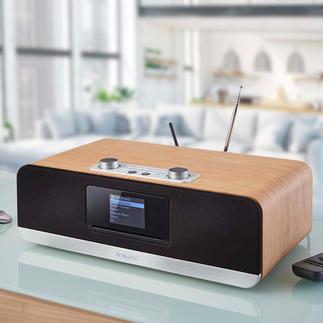 Roberts Komplett-Musiksystem stream 67 Roberts Komplett-Musiksystem stream 67 – stylish, soundstark und außergewöhnlich vielseitig ausgestattet.