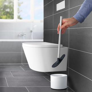 Silikon-WC-Wischer Viel flexibler und hygienischer als herkömmliche Toilettenbürsten.
