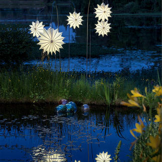 Barlooon Allwetter Lampion Effektvoll sanft leuchtend – ohne zu verwittern oder zu verrotten.