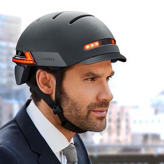 Smart-Helm Livall BH51M Neo Smart, stylish, sicher. Mit Freisprech-Einrichtung und Bluetooth-Fernbedienung.