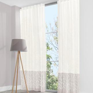 Vorhang Simi - 1 Stück Echt gewebt und kunstvoll bestickt – zum unerwartet günstigen Preis.