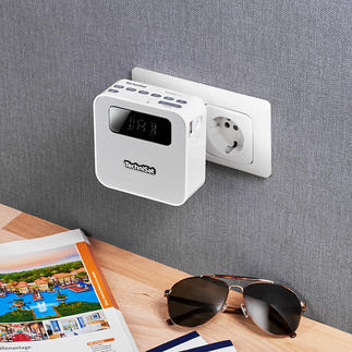 Technisat Steckdosenradio DAB+ Ihr kabelloses Musikcenter im Kompaktformat. Ideal für zu Hause und unterwegs.