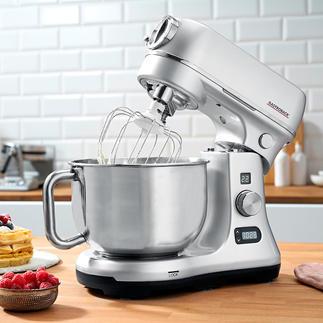 Gastroback Küchenmaschine Advanced Digital Mit sparsamen 600 W stark genug selbst für Schwerstarbeit. Inklusive komplettem Zubehörpaket. Profi-Qualität von Gastroback.