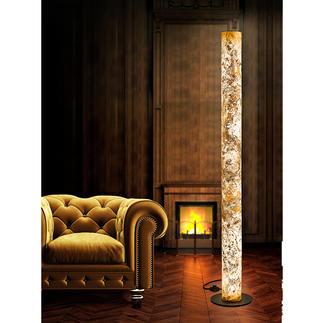Design-Schiefer-Leuchte Einzigartige Handwerkskunst lässt edles Schiefergestein in faszinierendem Licht erstrahlen.