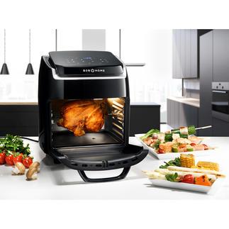 Hot Air Fryer Bistro Vital 10-in-1-Multitalent für Ihre abwechslungsreiche Küche. Gesund, fett- und kalorienarm.