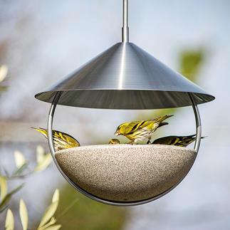Hänge-Vogeltränke Luca Schönstes italienisches Design: die freihängende Vogeltränke aus Granicium®.