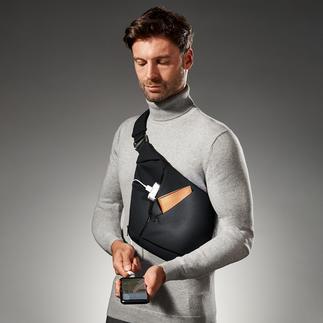 Baggizmo Crossbody Bag Alle Wertsachen gut geschützt am Körper – und mit einem Griff zur Hand.