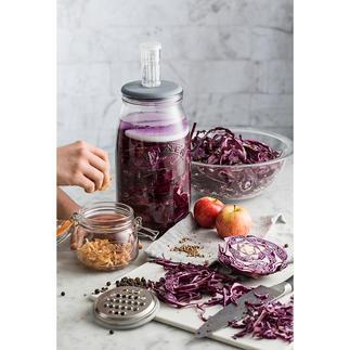 Fermentierglas mit Gärventil Food-Trend Fermentieren: ganz einfach, keimfrei und köstlich.