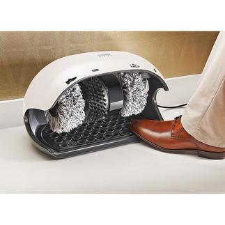 Caso Schuhputzmaschine, hellgrau Jeden Tag: saubere Schuhe wie von Hand gepflegt. In Sekunden.