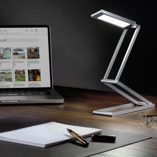 LED-Akku-Faltleuchte Kompakt und kabellos: Die extrem vielseitige LED-Falt-Leuchte mit Akkubetrieb. Ideal auch für Unterwegs, auf Reisen, beim Camping, im Garten, ...