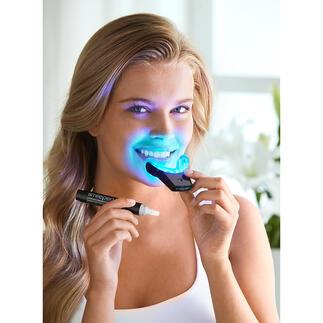 SmilePenPowerWhitening-Kit Bis zu 70 % weißere Zähne in 7 Tagen. Durch professionelles Bleaching-Gel unterstützt von einer kabellosen High-Power LED-Schiene.