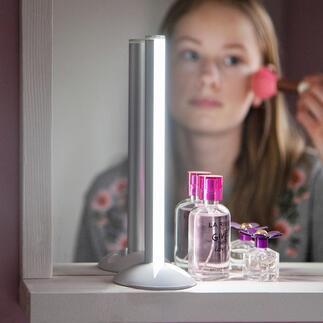 Akku-Stableuchte Elegant, blendfrei und genial mobil: helles, gerichtetes Licht, wo und wie Sie es brauchen. Kabellos.