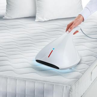 UV-C-HygieneSauger Wirksamer 4fach-Schutz gegen Milben, Keime und Mikroben in Ihrem Bett. Zum sehr guten Preis.