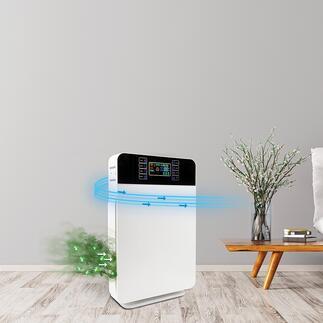 6-in-1AirPurifier Der bessere Luftreiniger: hocheffektive 6-fach-Filtertechnik – für bis zu 99 % reine Luft.