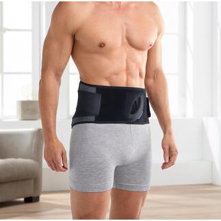 3-in-1 Rückengurt Lumbotherm® 3fach wirksam: stabilisiert, massiert und spendet Wärme nach Wunsch. Ohne Strom. Eine Wohltat zu Hause und unterwegs.