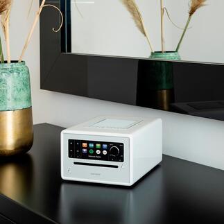 Kompakt-Musiksystem sonoroELITE 360°-Klangerlebnis im Kompaktformat. Beeindruckender Hörgenuss per WLAN und Bluetooth.
