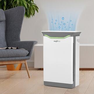 MAXXMEE Hochleistungs-LuftreinigerH14 Professionelle Filtertechnologie für nahezu keim- und allergenfreie Raumluft. Zum vernünftigen Preis.