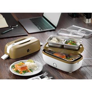 MobileKochbox Die mobile Elektro-Kochbox: bereitet abwechslungsreiche Snacks und komplette Gerichte. Ohne Aufwand. Und ohne Aufsicht.