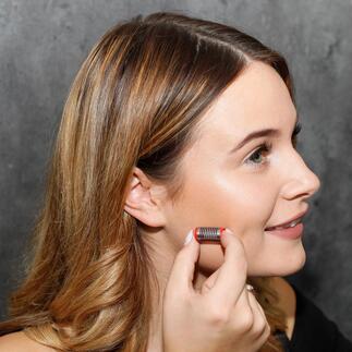 Epilier-Pinzette, 2er-Set Entwurzeln statt nur rasieren. Für bis zu 4 Wochen glatte Gesichtshaut.  Made in Germany.
