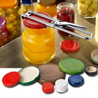 Deckelöffner, 2er-Set Von Sprudelflasche bis Gurkenglas: Dieser Öffner schafft spielend nahezu jeden Drehverschluss.