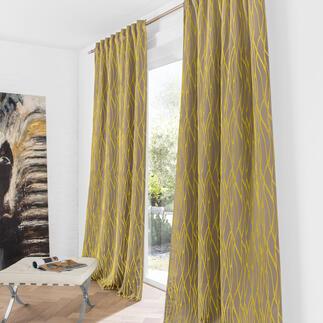 Vorhang Serenade - 1 Stück Selten wirkt ein gewebtes Relief so plastisch.