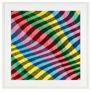 Antonio Marra – Mir schwirrt der Pinsel Erstmals kann ein Kunstwerk Antonio Marras als limitierte Edition aufgelegt werden. Außergewöhnliche Dreidimensionalität und Mehransichtigkeit. Maße: gerahmt 114,5 x 114,5 cm