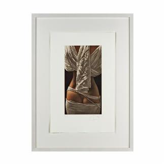 Willi Kissmer – Rückenakt Willi Kissmers handgefertigte Original-Radierungen. 100 handsignierte Exemplare. Maße: 32 x 51 cm