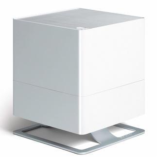 """Luftbefeuchter """"Oskar"""" Design-Objekt mit minimalem Stromverbrauch und einstellbarer Raumluftfeuchte."""