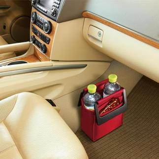 Roadbag Viel praktischer. Und sicherer: die standfeste Fußraumtasche fürs Auto.