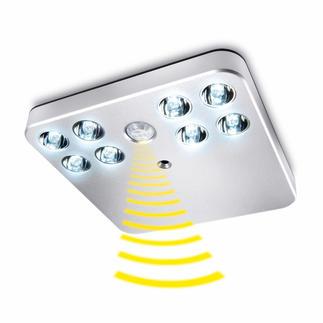 LED-Sensorlicht Klein, hell, ohne Stromanschluss. Für alle Schränke, Schubladen, Treppenaufgänge, ...
