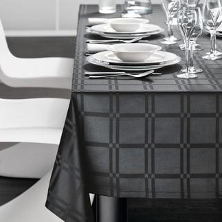 Fleckabweisende Tischwäsche Teflon® ummantelte Microfaser macht das Gewebe dauerhaft fleckabweisend und pflegeleicht.